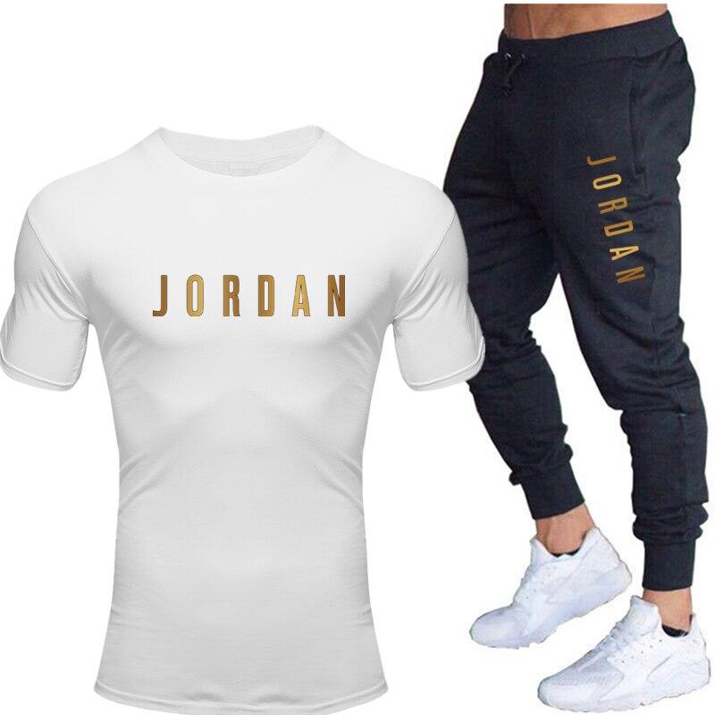 Conjuntos De Camisetas Y Pantalones Para Hombre 2020 Conjuntos De Dos Piezas Chandal Informal Para Hombre Y Mujer Jordan 23 Tops Y Pantalones Estampados Para Gimnasio Omeda Tienda De Ropa