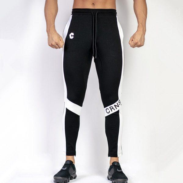 Pantalones Ajustados Informales De Color Liso Para Hombre Pantalones De Entrenamiento Fisico Deportivo Para Trotar Pantalones De Algodon De Retales A La Moda Para Hombre Omeda Tienda De Ropa