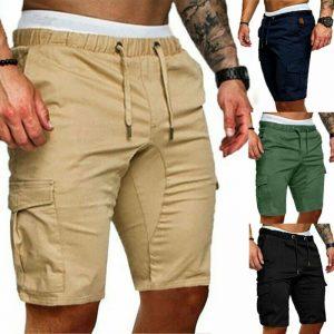 Herren Hombre Talla Grande Corredor Pantalones Cortos Militar Sports Ejercicio Combate Winebox Gr