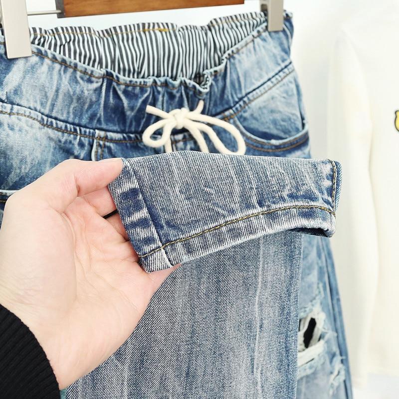 Verano Vaqueros Pantalones Vaqueros De Estilo Boyfriend Para Mujer Moda Vintage Alta Cintura Jeans De Talla Grande Vaqueros 5xl Pantalones Mujer Vaqueros Q58 Omeda Tienda De Ropa