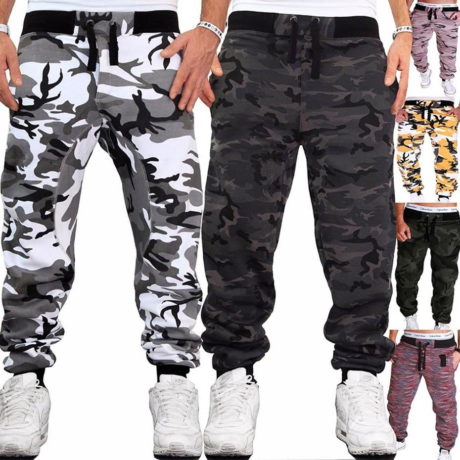 Zogaa 2020 Slim Hip Hop Hombre Camuflaje Pantalones Jogging Fitness Ejercito Pantalones Cargo Militares Pantalones Ropa Pantalon Sudadera Deportiva Omeda Tienda De Ropa